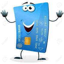 14993149-Illustration-of-a-cartoon-happy-funny-credit-card-character-welcoming-Stock-Vector